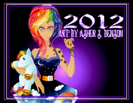 2012 Color Calendar by Asher-Bee