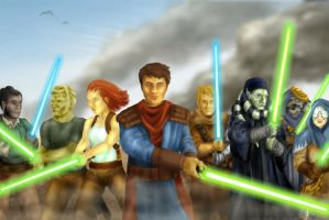 Tales of the Jedi by josh-eeewwa