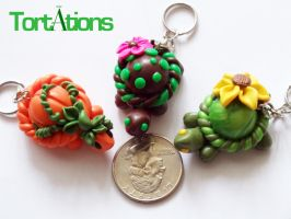 Tortation Keychains by Tortations