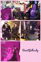 Maleficent Dolls and Shirt by BeautifulHusky