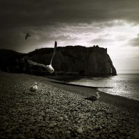 walking around Etretat VI... by Kaarmen