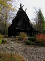 Stave Church by Vasya27