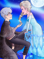 Take My Hand, Little Snowflake by justabay