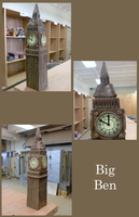 Ceramics Big Ben by MizunoMirai