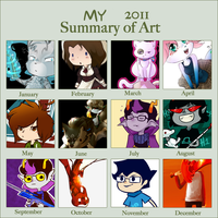 2011 summary of art by Nifty-senpai