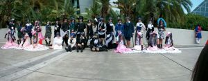 Anime expo 2013 Ciel Gathering by JeanLuz