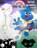 They Call Me Gumball Issue 1 Cover by WaniRamirez