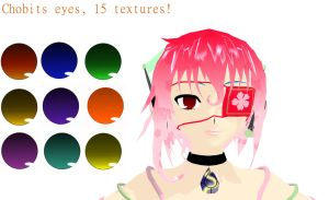 Chobits Eye Texture pack 15 Textures! by SoganaxSaeki