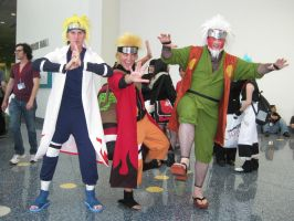 AX 2010: Sages and Minato by ShipperTrish