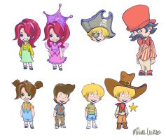 Characters by Miggs69