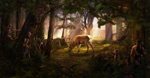 Hunting Lesson by Rafunsel