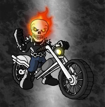 Mini Marvels - Ghost Rider I by ZappaZee