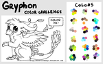 Gryphon Color Challenge by Bluefirewings