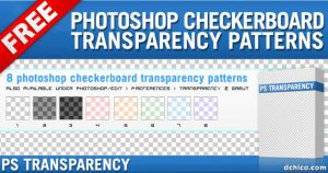 Photoshop Transparency Pattern by deiby