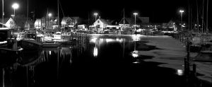 Harbor of Night by EframX