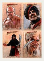 Indy sketchcards: Thugs by jasonpal