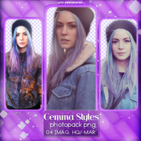 +Photopack png de Gemma Styles. by MarEditions1