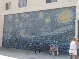 Mural on the Wall by DubyWaby