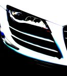 Audi R8 GT Headlight, Adjusted by carri12