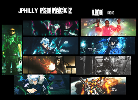 JPhilly PSD Pack 2 by JPhilly