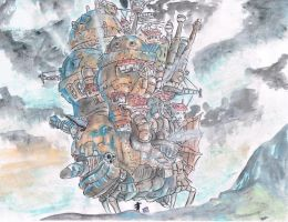 Howl's Moving Castle 2~ by samui153