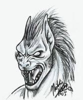 One stage of a lycan by pucksgryn