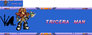 Tricera Man Sprite by shadefalcon