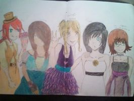 dresses by milovedeathnote
