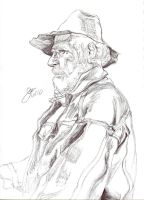 Old Farmer by elipse