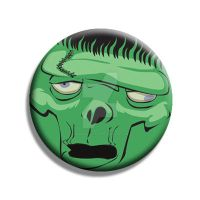 Frankenstein Button by Mutant-Cactus