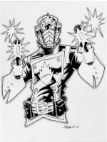 Sketch 026 of 100 STARLORD by misfitcorner