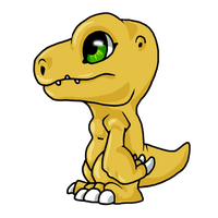 Agumon by Natsuakai
