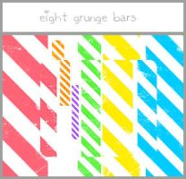 Grunge Bar Brushes by bellissima-x