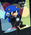 Oppa Sonic Style by Domestic-hedgehog