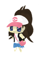 Pokemon B+W Trainer Chibi by CharryEX