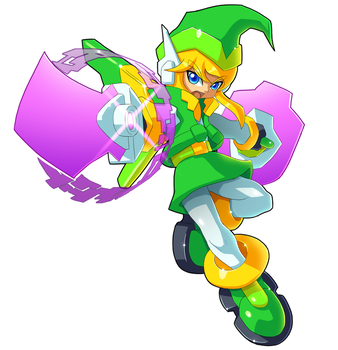 Commission: Link and Model H Fusion by ultimatemaverickx