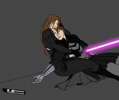 Jaina and . . . . . Jacen WIP by JosephB222