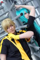 Kagamine Len - Frontiers by Des-Henkers-Braut