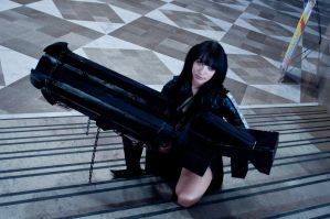Black Rock Shooter Cosplay by Leuxdeluxe