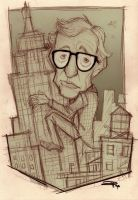 Woody Allen by DenisM79