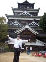Hiroshima Castle Tourist by PlaidRed