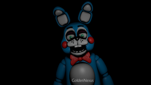 Finished Toy Bonnie Model by GoldenNexus