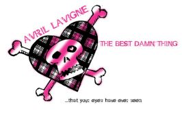Avril Lavigne t-shirt design by little-imp