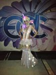 Fluffy Unicorn outfit for EDCLV 2014 by Ivy0