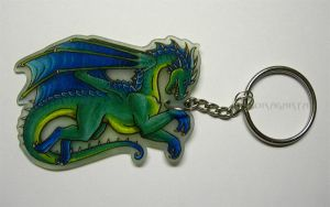 First Dragon keychain by Dragarta