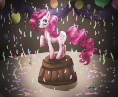 MLP: FiM PINKIE PIE by dreampaw