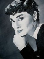Audrey Hepburn by ColbyBluth