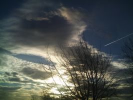 Striking sunset by Bizkit66
