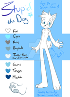 .:Ref:. Stupid the Dog as Sonic character by SilverfanNumberONE