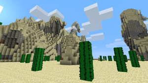 Minecraft - Golden Mountain by Ludolik